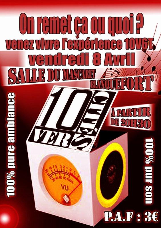 MYTIK FIRE PARTICIPE au CONCERT Dix Vers Cité Le Vendredi 8 avril 2011