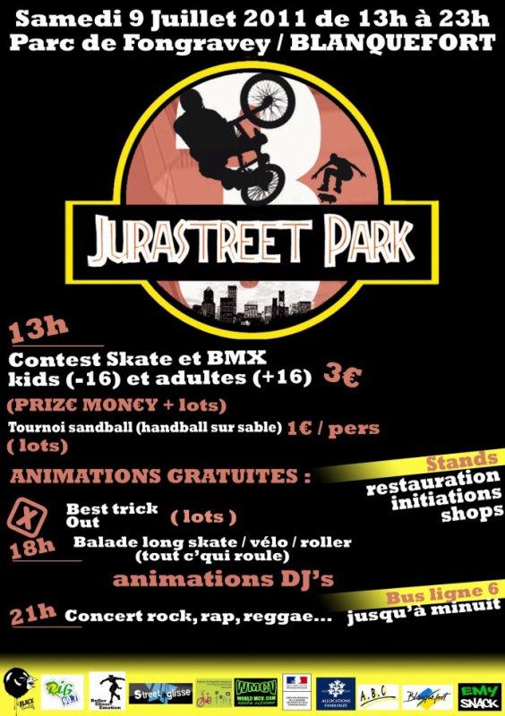 MYTIK FIRE Participe au CONCERT RAP JURASTREET PARK Le Samedi 9 Juillet 2011
