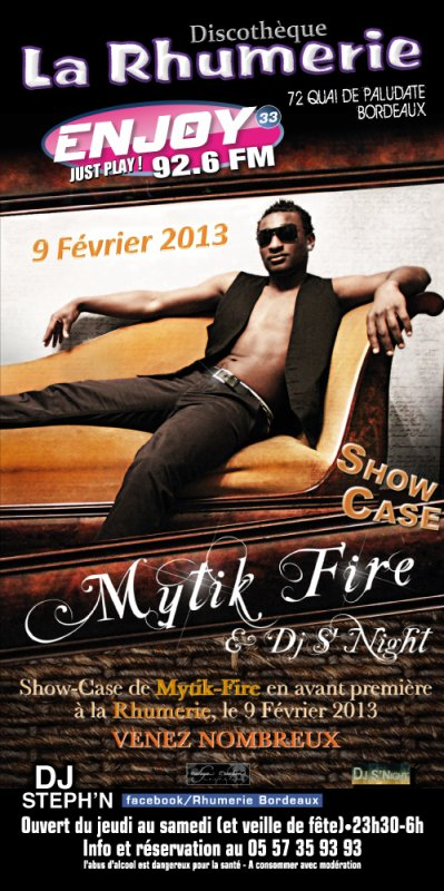 "Tournage du CLIP DJ 'S NIGHT Feat MYTIK FIRE ""Shake your Body"""