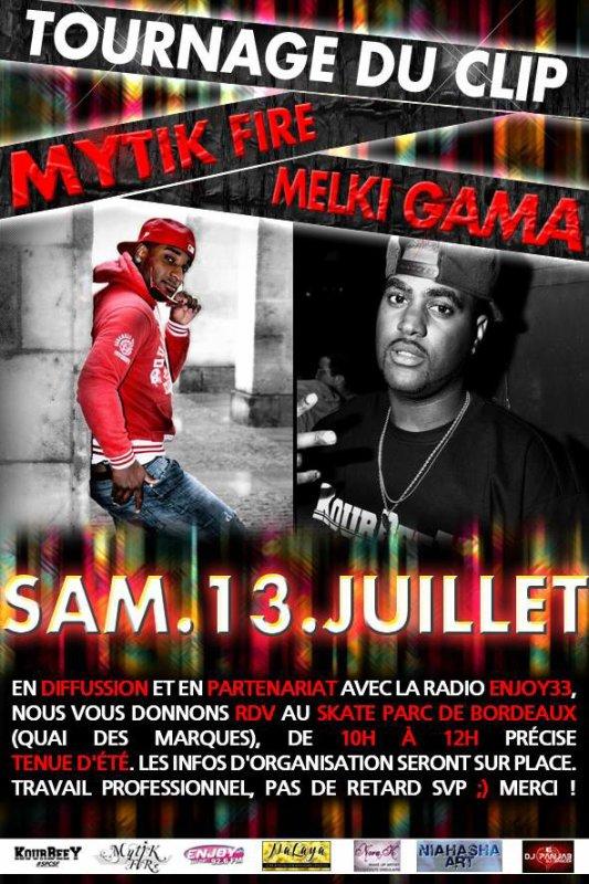 "Tournage du Clip ""Universel"" MYTIK FIRE feat MELKI GAMA"