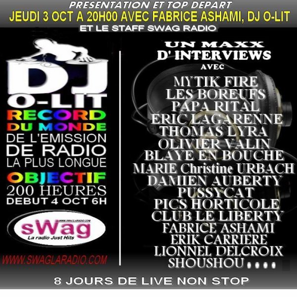 MYTIK FIRE EN INTERVIEW SUR SWAG LA RADIO