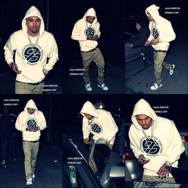 . NEW MUSIC : Chris Brown - How I Feel Chris Brown & Kae Apperçu au NightClub Pour Le Bday de Bow Wow IN HOLLYWOOD .