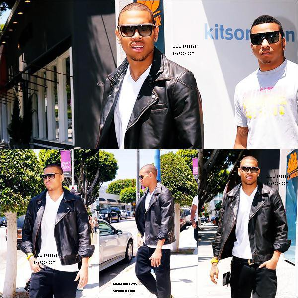 . 07/06/09 : Chris A été Vue en Fesant Du Shopping en Compagnie de Mijo a Beverly Hills Si j'ai choisie de Flashback c'est parce que j'ai eu un coup de coeur pour Le look de Chris . .
