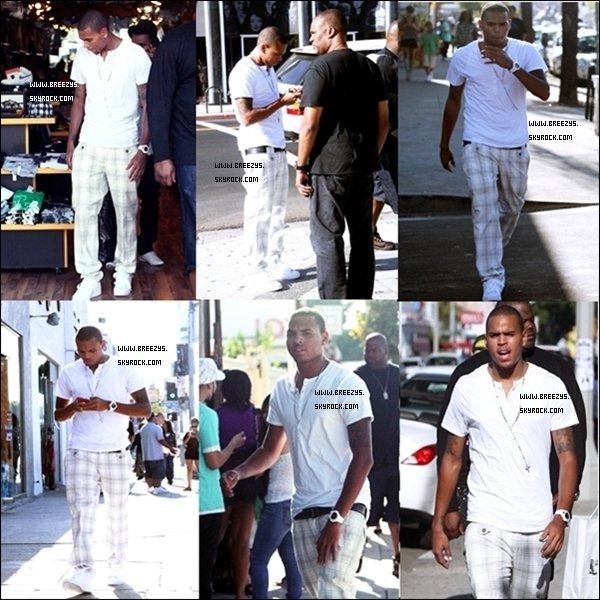 . 21/08/08:Shopping on Melrose Ave Si j'ai choisie de Flashback c'est parce que j'ai eu un coup de coeur pour Le look de Chris . .