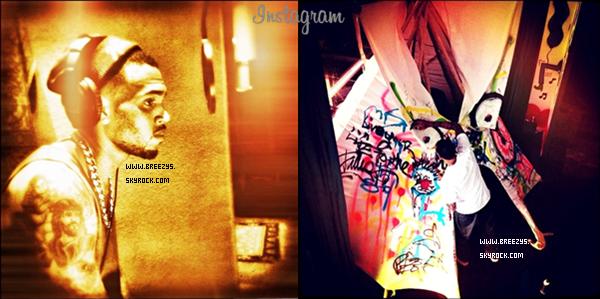 """. Découvre La Derniere Sorti de Chris Brown & Karrueche  au Supper Nightclub À Hollywood . Des Photos a été Poster Sur Son Compte Instagram. & Quelque Son Poster Sur Son Compte Vimeo . """"Ma Pensée: C'est Que Chris Sortira Une Mixtape avant L'album #FORTUNE"""". Ton Avis ! ."""