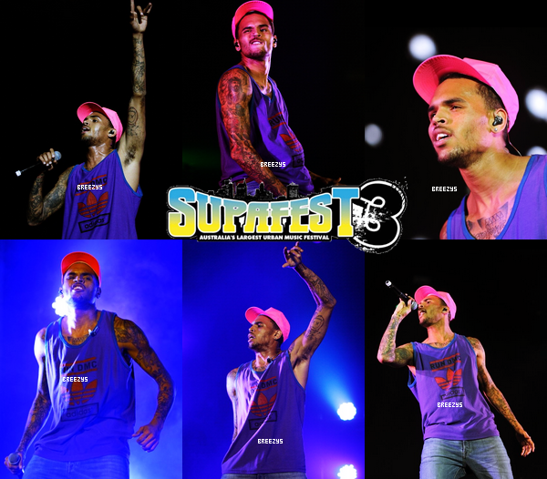 ". ""Breezys"" : - Chris Brown Perform Pour #Supafest 2012 en Australie. !!. Chris au Club ""Magic City"" apres  La Performance #SUPAFEST2012 Sydney!!!.....  ."