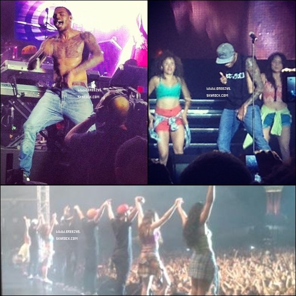 ". ""Breezys"" : - Chris Brown Perform Pour #Supafest 2012  a Melbourne en Australie.!!. Chris A Poster Des Photos Sur Son Compte Instagram Via Twitter !!!!...... !!!  ."