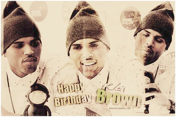 . ♦ Breezys : - HAPPY BDAY BREEZY ♥ !  .