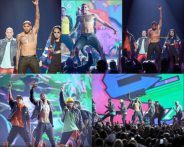 . ♦ Breezys : -  Chris Brown performs a #BillboardMusicAwards2012. Take It To The Head en Exclu!  .