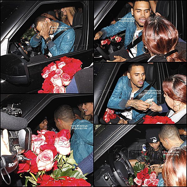 ". ♦ Breezys : -  Chris Brown a éte vu au Club ""Supper Club"" a Hollywood. #SweetLoveBTS + Photos de Chris postées sur Instagram Via Twitter !!!  ."