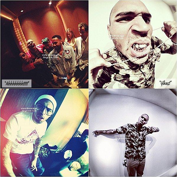 """. ♦ #Breezys : - 12/06/12: Notre Chris Brown vus Au Club avec Plusieurs Amisa""""New York.""""..  ."""