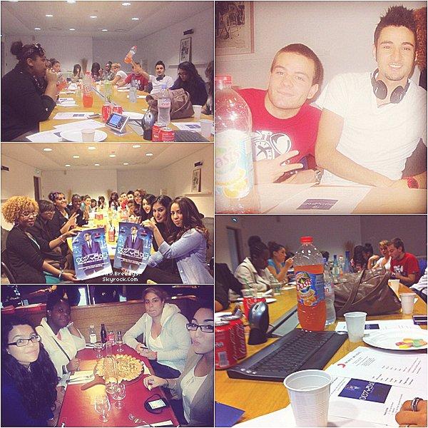 . ♦ #Breezys : -#TeamBreezyFrance à la Session D'ecoute de Fortune à Paris.  .