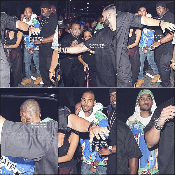 . ♦ #Breezys : - Chris a été vu au Club a Hollywood .  .