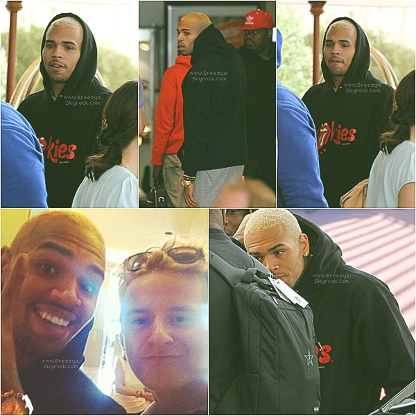 ". ♦ #Breezys : -  "" Chris Brown arrivant à son hôtel à Cannes (FRANCE)"" #Breezys "" .  ."