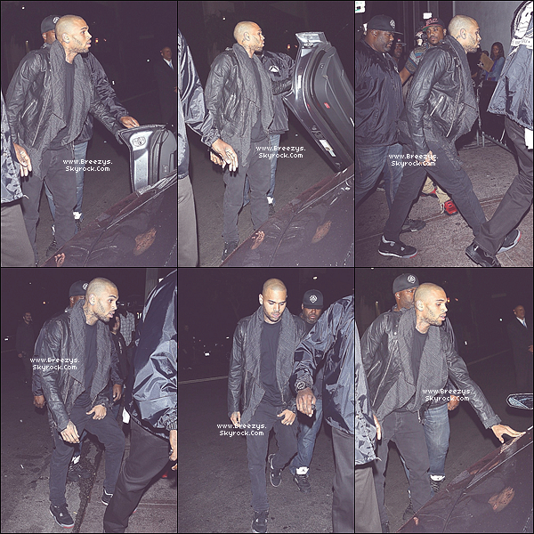 ". PHOTOS : Chris Apperçut au Club ""Roxbury"" a Los angeles . ."