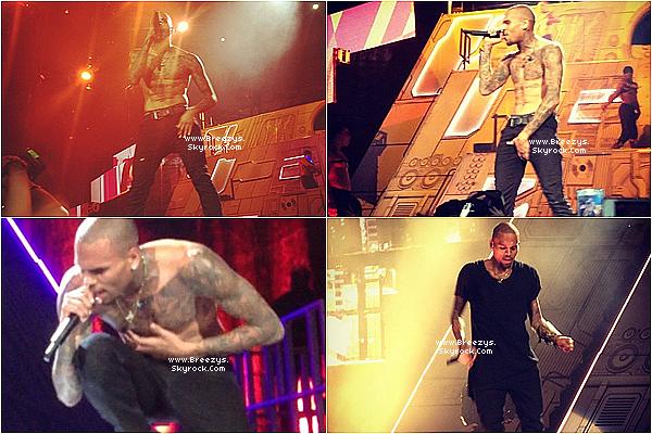 """. Chris B. a donné un Concert toujours dans le cadre de la tournée """"Carpe Diem Tour"""" à Stockholm .Top ou Flop? ."""