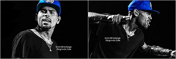 """. Chris B. a donné un Concert toujours dans le cadre de la tournée """"Carpe Diem Tour"""" à Berlin . ."""