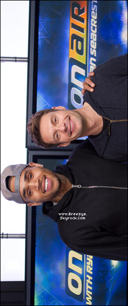 . Chris Brown a accordée une interview a « Ryan Seacrest», à voir ci-dessous. .