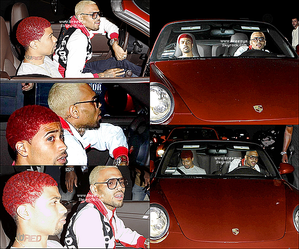 ". 13.05.2013 : Chris à été aperçue en sortant du club ""Greystone Manor"" a Hollywood. ."