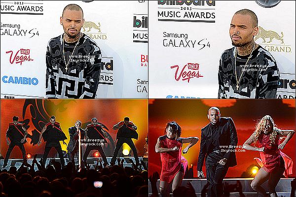 """. 19.05.2013 : Chris etait présent au """"BillboardAwards 2013"""" a Las vegas. ."""