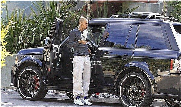 . 21.05.2013 : Chris a été repérer par les paparazzi dans les rues de Los angeles. .