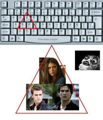 Le triangle amoureux principal
