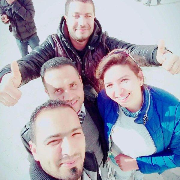 Avec mes collègues