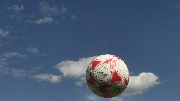 Ballons dans les airs