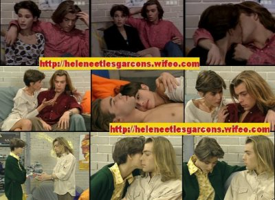 Nathalie & Nicolas dans Hélène et les garçons