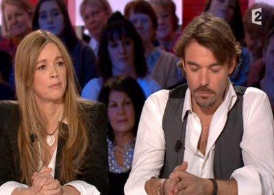 Hélène & Patrick (Nicolas) lors de la promo des mystères de l'amour