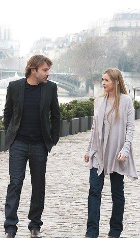 Toujours Hélène & Patrick (Nicolas) pour la promo des mystères de l'amour