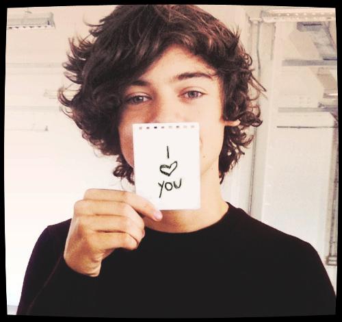 """Harry """"I <3 you """""""