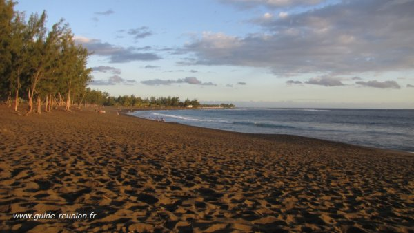 """plage de l""""étang salé"""