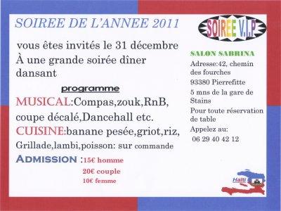SOIREE 2011