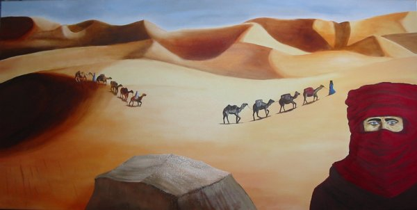 paysage du desert