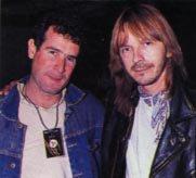 Renaud et Johnny Clegg
