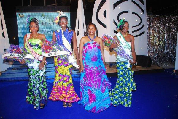 Miss Bénin 2010 : Luronne Dossou, la plus belle fille de l'année