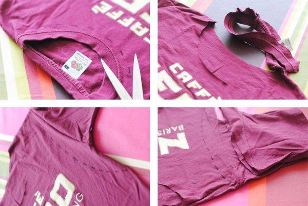 rendre un tee-shirt de concert SEXY