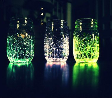 Les Glowing ou Fairy Jars