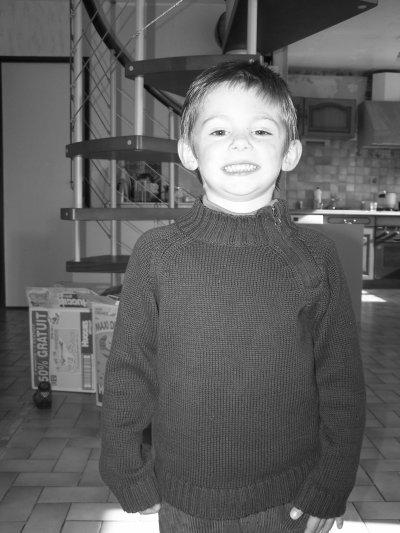 voici mon fils lucas 4 ans