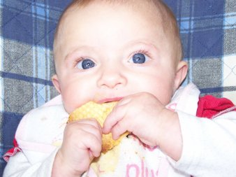 ma fille leonie 7 mois