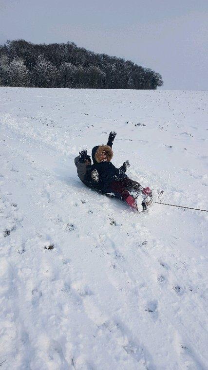 Reveil sous la neige...