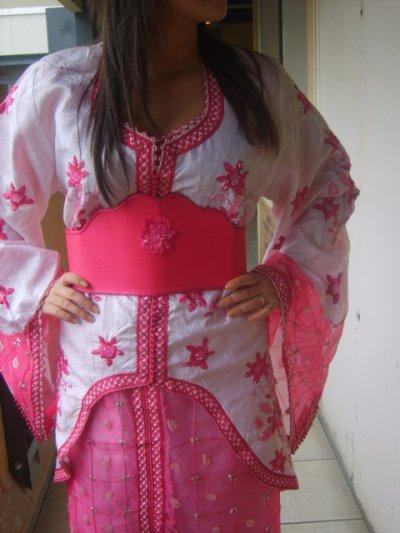 Takcheta rose et blanche