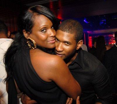 Usher & tameka foster