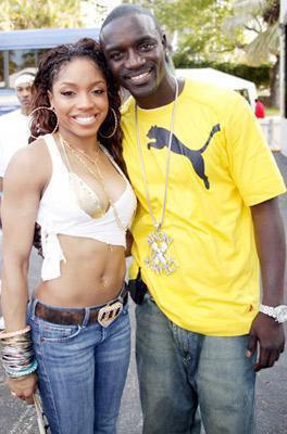 Akon & sa femme