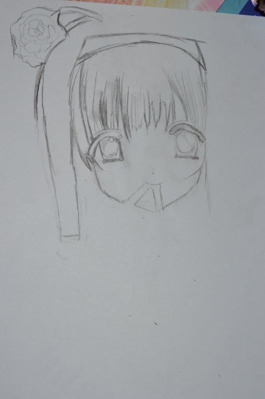 Voici un de mes dessin datée du  05/01/2013