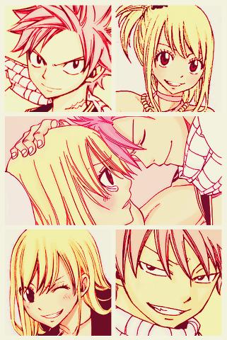 Fairy tail 8DD Natsu et Lucy ♥