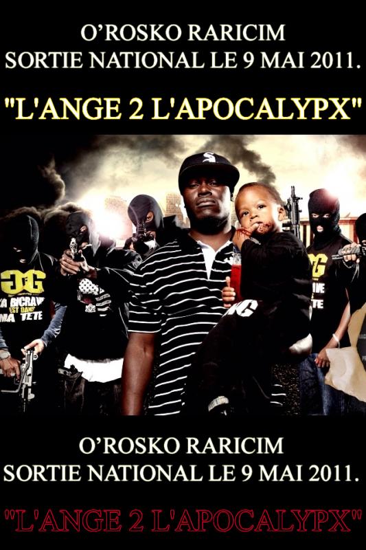 "O'ROSKO RARICIM ""L'ANGE 2 L'APOCALYPX"""