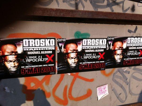 """O'ROSKO RARICIM """"L'ANGE 2 L'APOCALYPX"""" LE 9 MAI 2011 !!!!"""