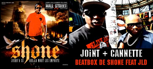 Shone rap sur du beatbox avec JLD